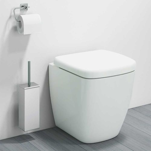 Venice Back to Wall WC Pan inc Soft Close Seat